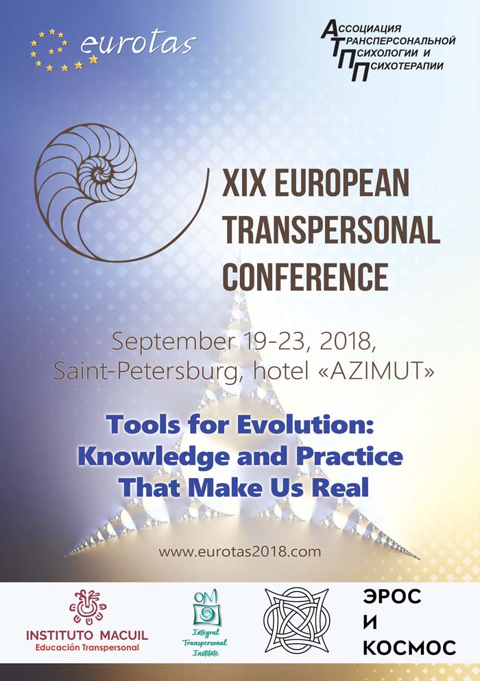 Presencia en la Conferencia de EUROTAS 2018, San Petersburgo, Septiembre 19-23 2018. Tools for Evolution Knowledge and Practice That Make Us Real